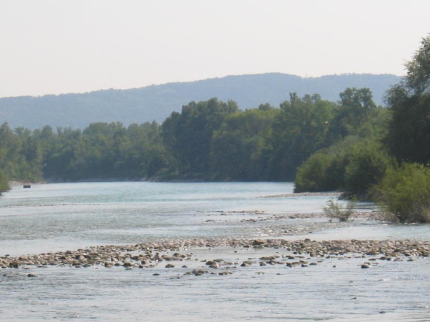 Il fiume Isonzo