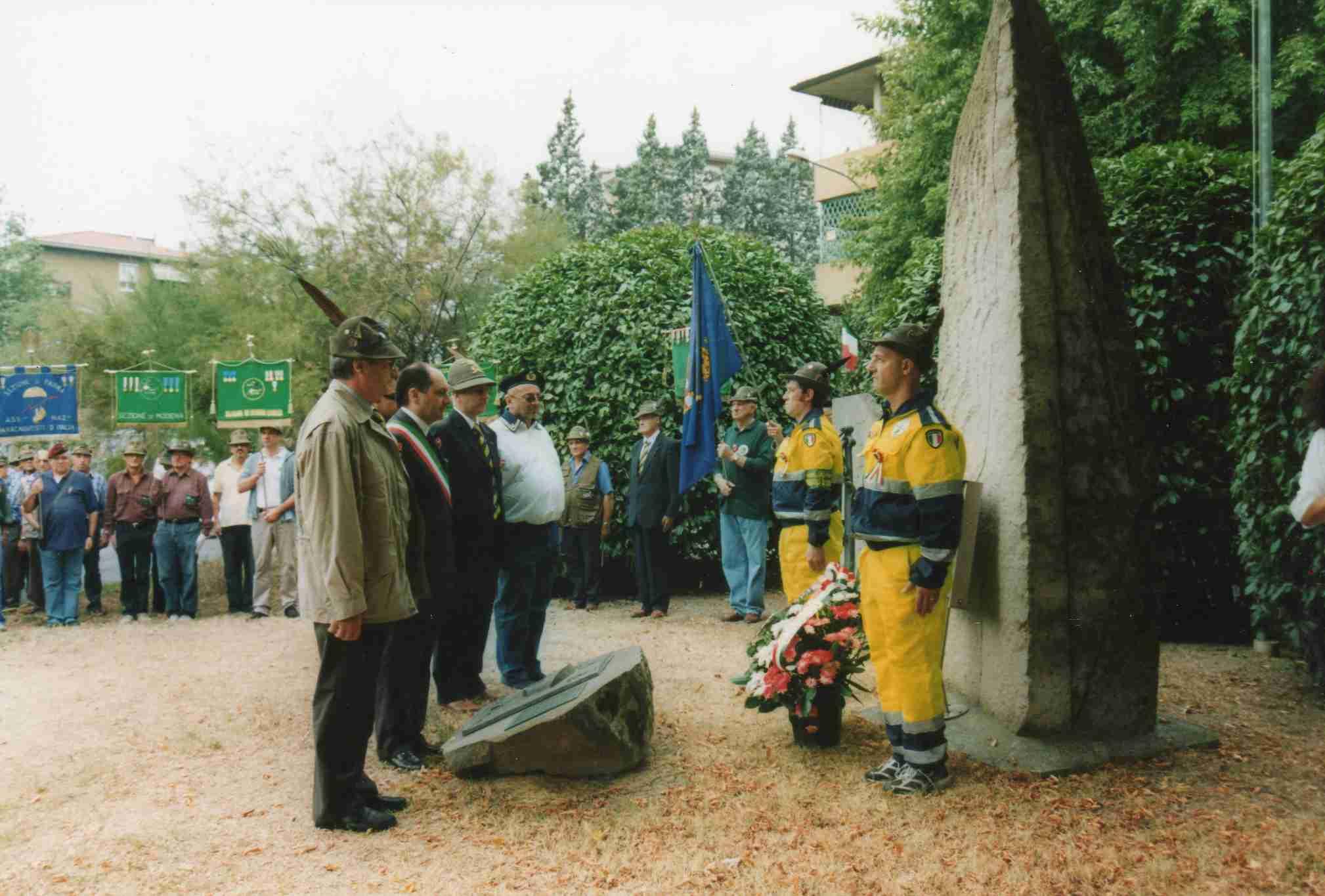 Onori dall'Associazione Alpini 2007