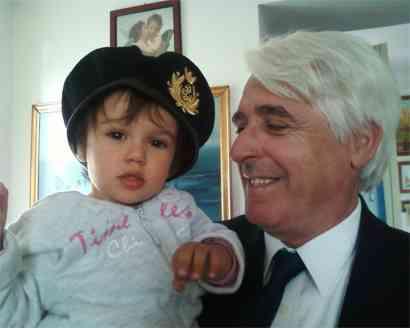 Nonno con Camilla