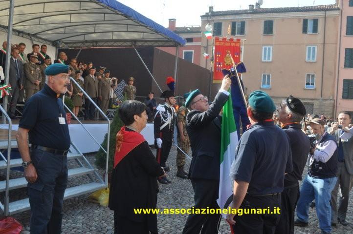 Rappresentaza  A.N.M.I. Colorno a Mantova 02-10-2011