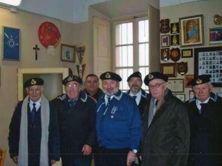 Il Presidente Rossi Franco e parte del Consiglio