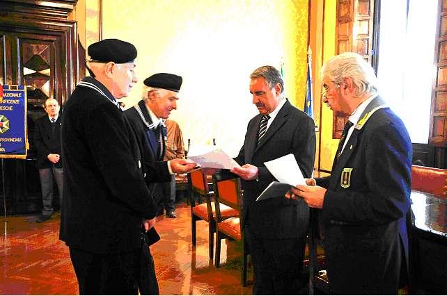 Cosegna lettera del Presidente Nazionale ANMI al Prefetto