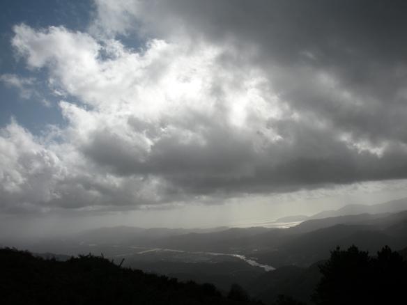 tra nuvole e foschia...