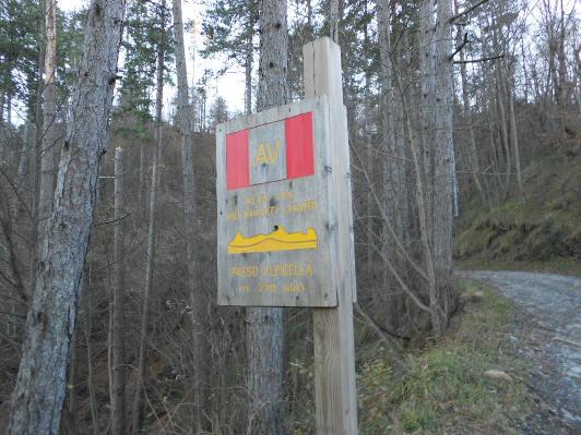 direzione Alpicella