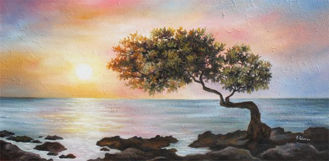 Serenità al tramonto