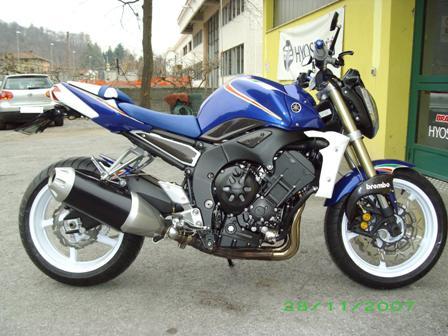 Yamaha Fz1 Italia