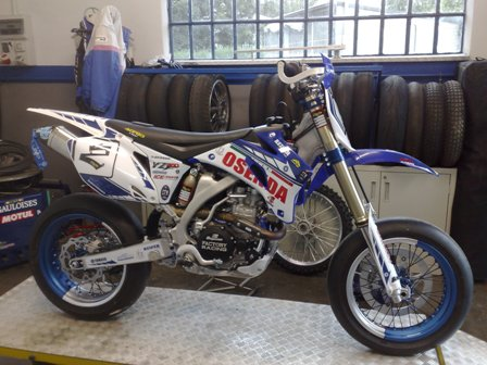 la mia preferita Yamaha YZ 450F