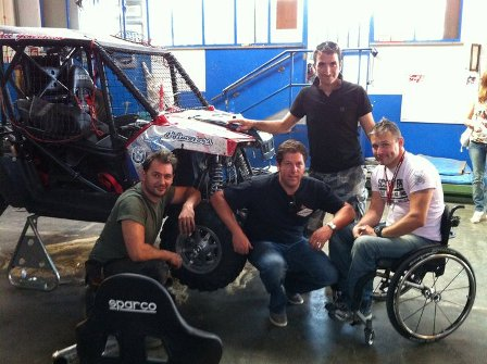 Io, Supernico, Martin Elka (the king of suspension) e Max