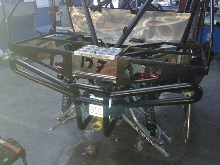 rear bumper montato
