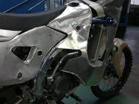 serbatoio posteriore destro