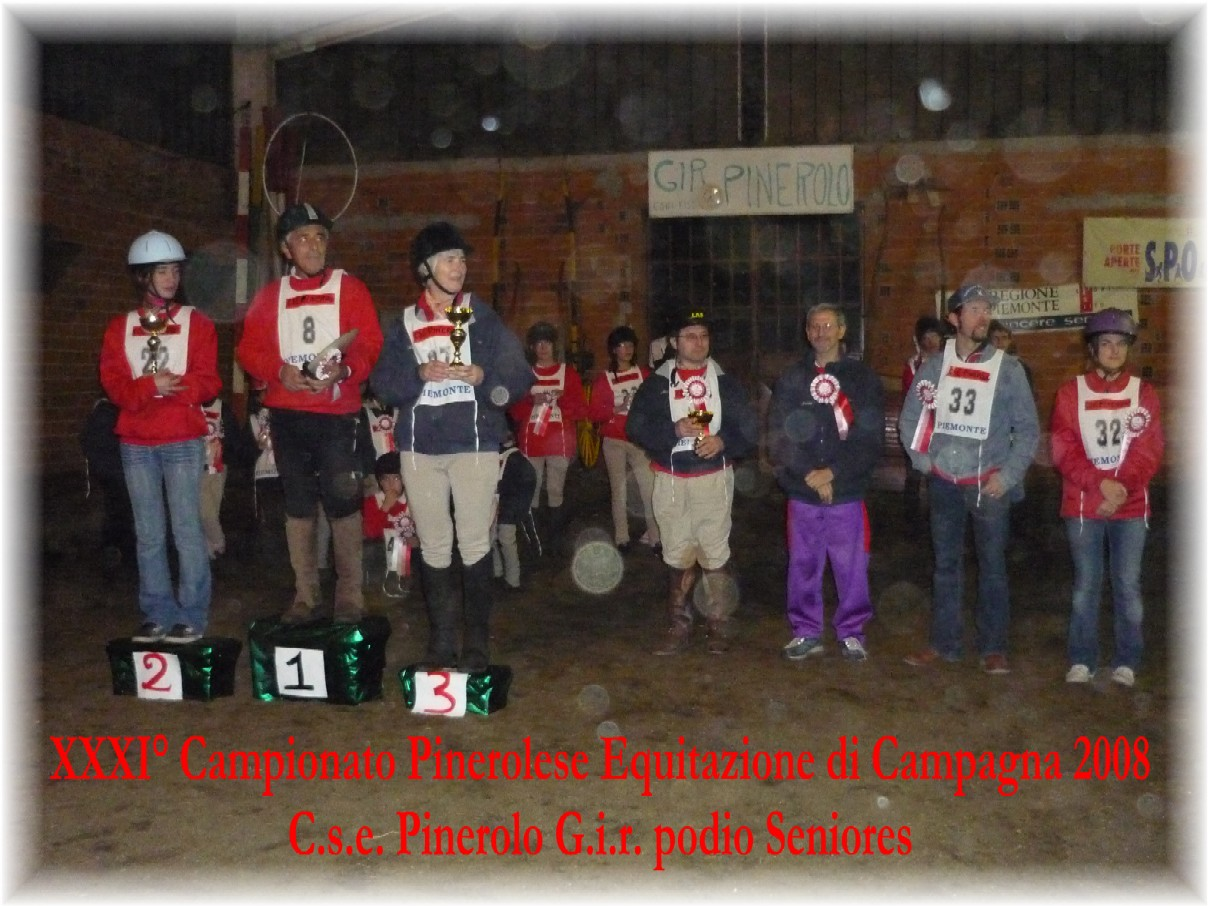 XXXI� Campionato Pinerolese Equitazione di Campagna 2008