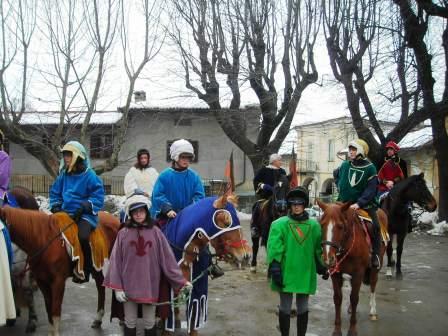 Benedizione dei Cavalli,Cavalcata della Scremita e Pranzo Sociale 2009
