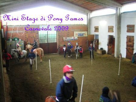 Mini Stage di Pony Games in Maschera Do 01 Febbraio 2009