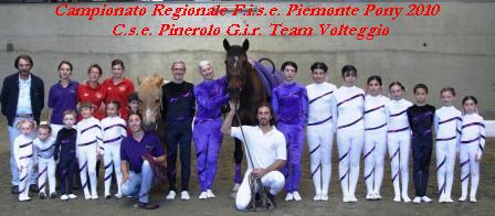 Campionati Regionali Fise Piemonte Pony e Volteggio 2010
