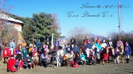 Do 16 Gennaio 2011 Festa S.Antonio - Cavalcata della Scremita - Pranzo Sociale - Premiazione Atleti