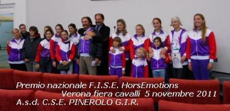 Premiazione Horsemotions F.i.s.e. alla Fieracavalli Verona 2011