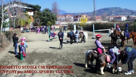 IL Pony a Scuola...