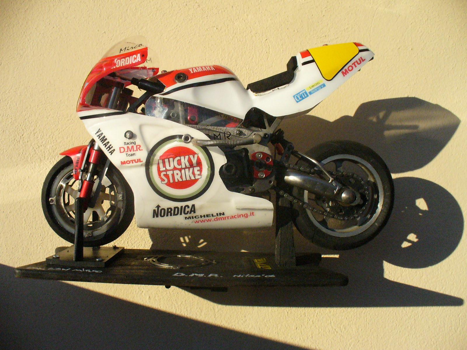 DMR 06 motoradiocomandata full titanium nitro bike