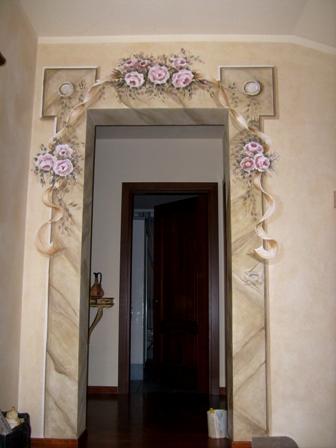 portale finta pietra