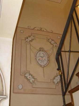 decorazione scala
