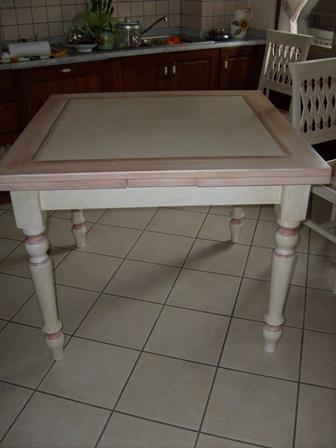 tavolo patinato