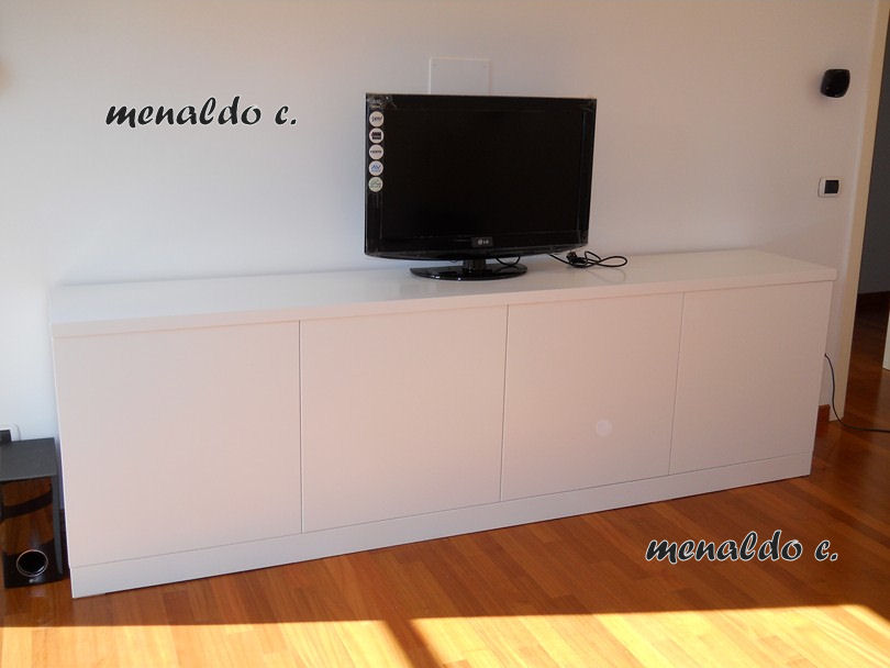 Falegnameria powered by - Mobile angolare porta tv ...