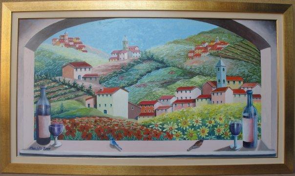 Paesaggio Campagne Di Asti