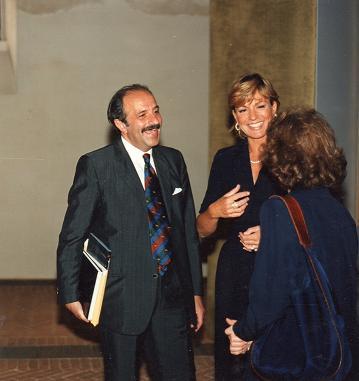 CATHERINE SPAAK con Nanni Fogola