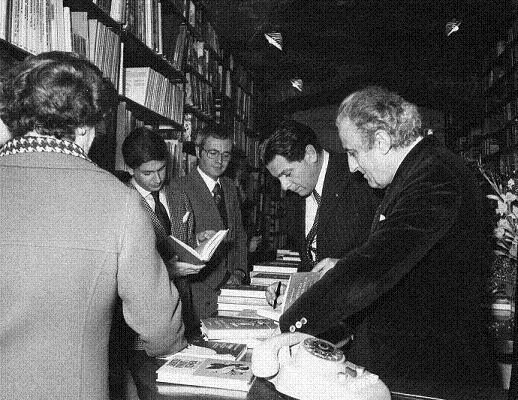 PIETRO BUSCAROLI, PAOLO ISOTTA con Mario Fogola