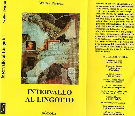WALTER PESSION - INTERVALLO AL LINGOTTO esaurito