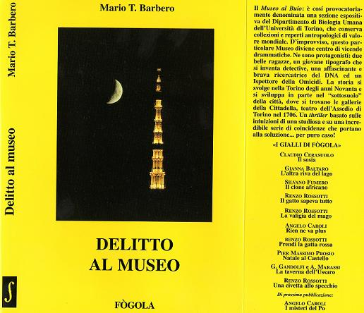 MARIO T. BARBERO - DELITTO AL MUSEO esaurito