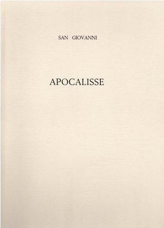 SAN GIOVANNI - APOCALISSE