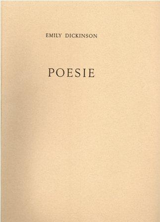 EMILY DICKINSON - POESIE
