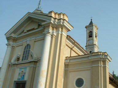 Facciata Chiesa Madonna della Neve -  Alma