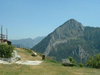 Panorama dall'Alpe Balma