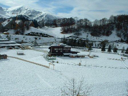 Neve ad Pratonevoso 28-10-07
