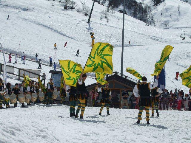 Medioevo sulla neve Artesina