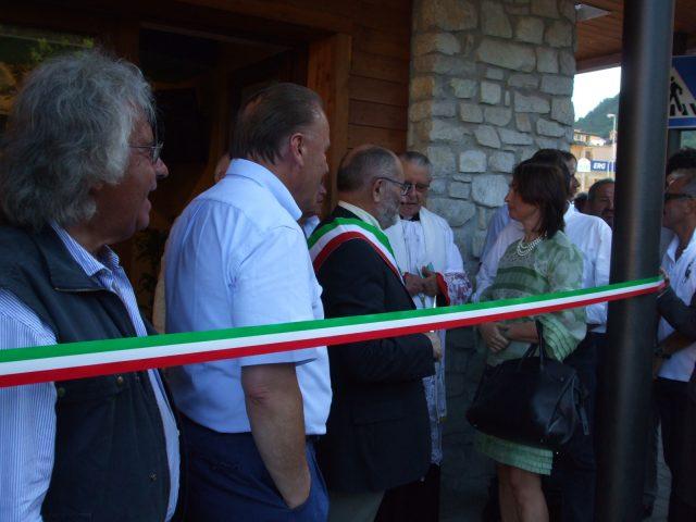 Inaugurazione ufficio turistico Frabosa Sottana