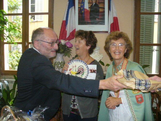 GEMELLAGGIO COLLOBRIERES-FRABOSASOTTANA 14.8.2010