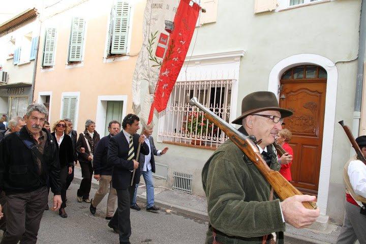 Delegazione di Frabosa Sottana alla 30^ Festa della Castagna di Collobrières