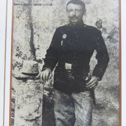 Nonno Toni artigliere esercito austroungarico classe 1883