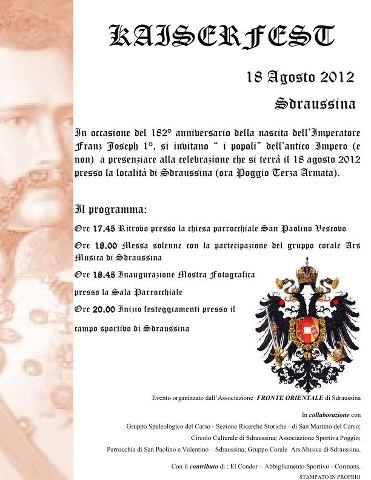 Kaiserfest 2012  I° edizione