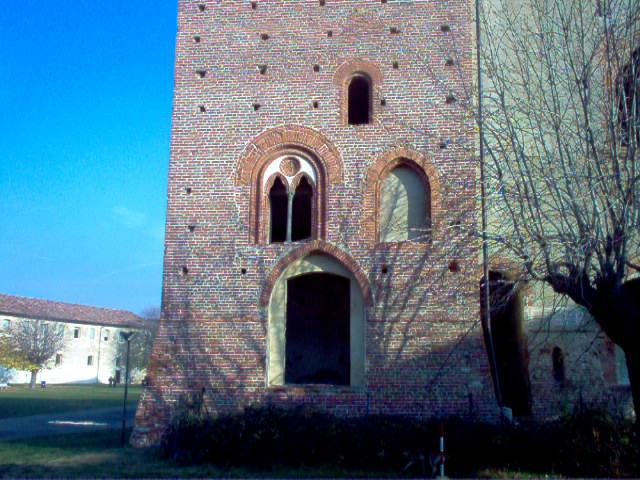 Scorcio del Castello di Vigevano