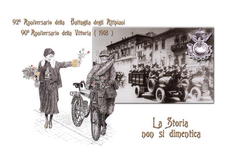 92� Anniversario della Battaglia degli Altipiani - 90� Anniversario della Vittoria (1918)