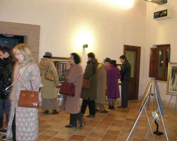 Visitatori alla Mostra di Frosinone