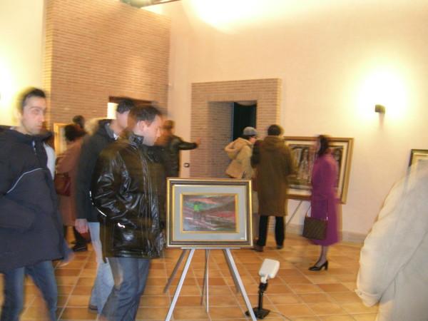 Visitatori Mostra Villa Comunale