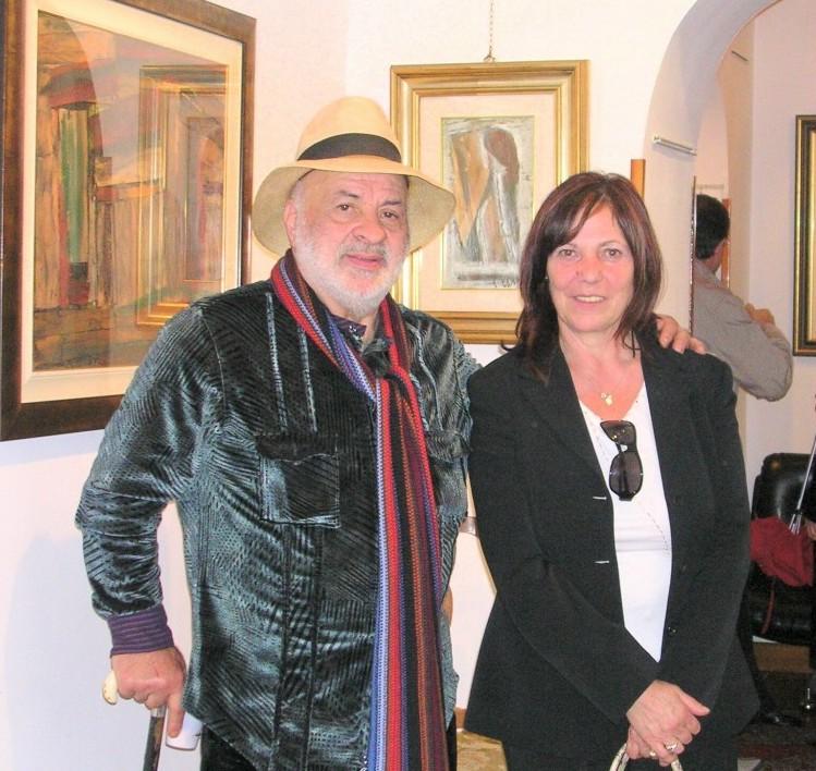 Il Maestro Conciatori e Anna Turri