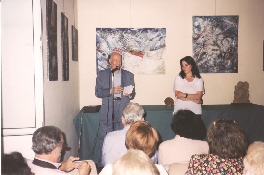 Giuseppe Selvaggi e Anna Turri Mostra a IDEA Roma