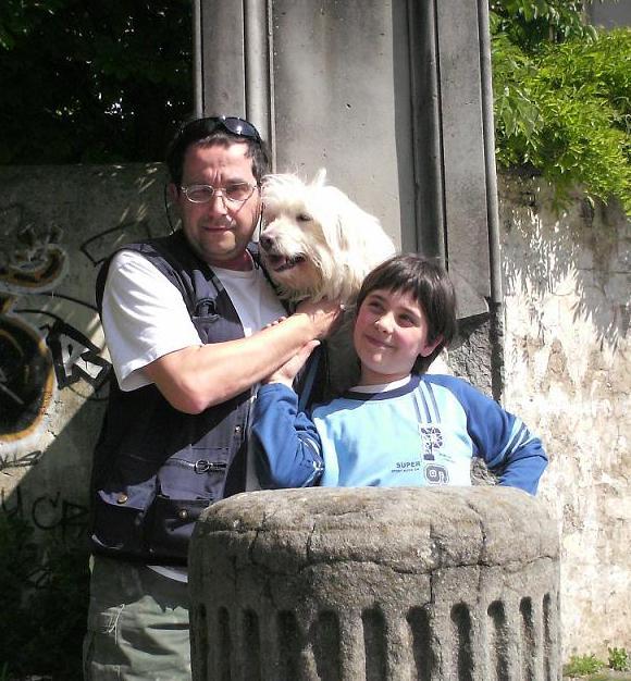 Massimo Federico Lombardi e Golia