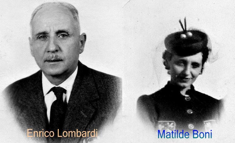 I miei Nonni    Enrico Lombardi  - Matilde Boni